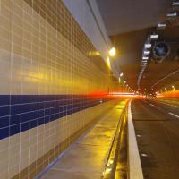 Technologické čištění tunel Blanka